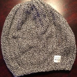 Madewell Beanie Hat (marled gray)